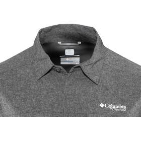 Columbia Irico Longsleeve Shirt Heren, black heather